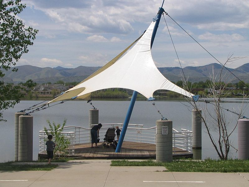 Example Open Structure - Shade Sail